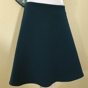 Flirty Teal Torrid Skirt